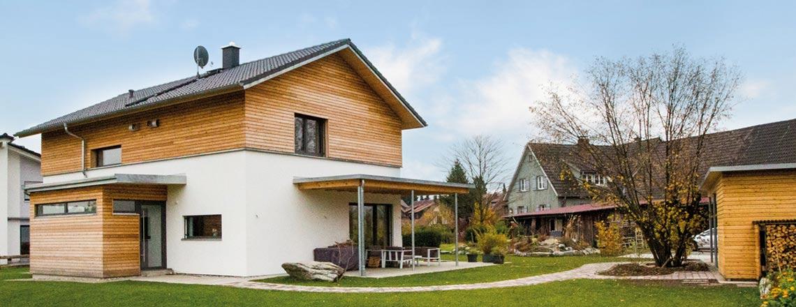 Wir sind Experten für Holzhäuser