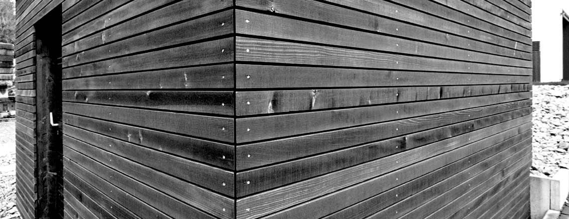 Nebengebäude aus Holz