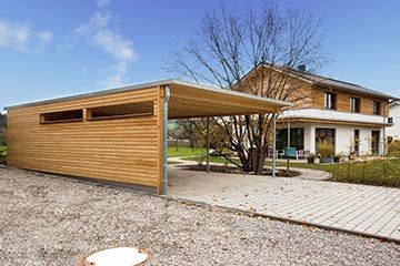 csm Joos Holzbau Carport Haus