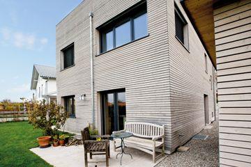 csm Joos Holzbau Fassade Grau Holz